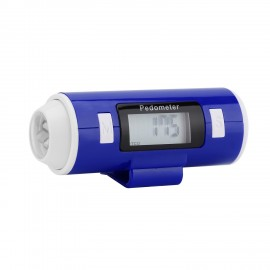 Pedometer with LED Torch
