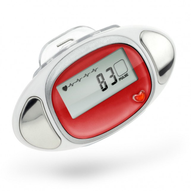 """Cardio"" 3D Pedometer with Pulse Reader"