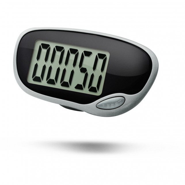 Simple Pedometer Step Counter with Clip