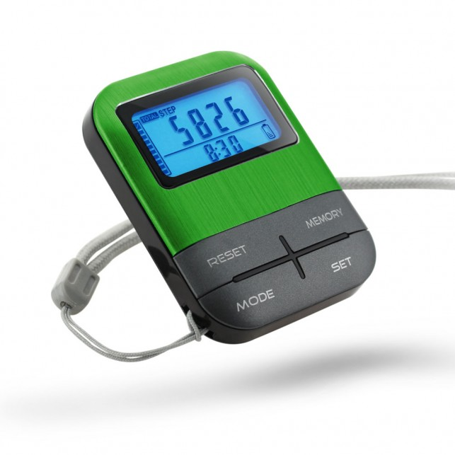 Rechargeable USB Pedometer with Backlight