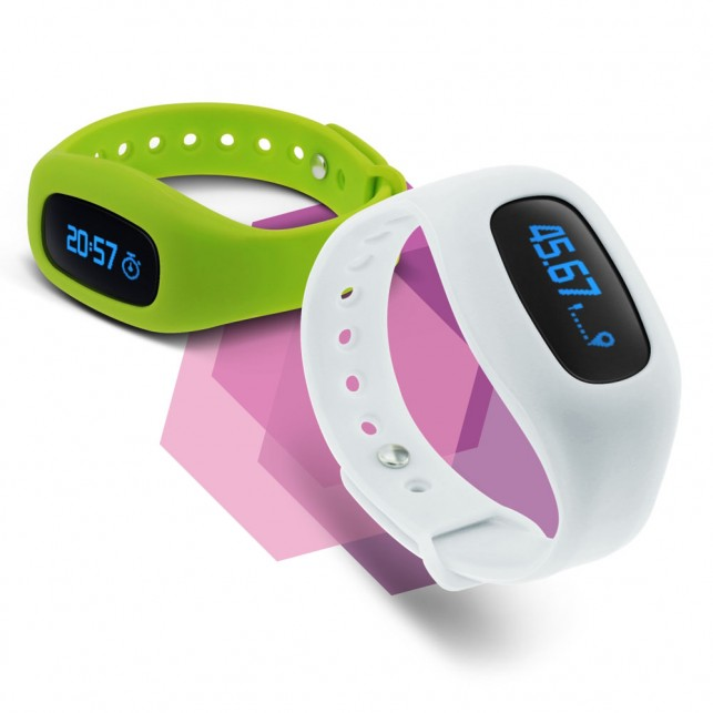 Activity Tracker with OLED Display